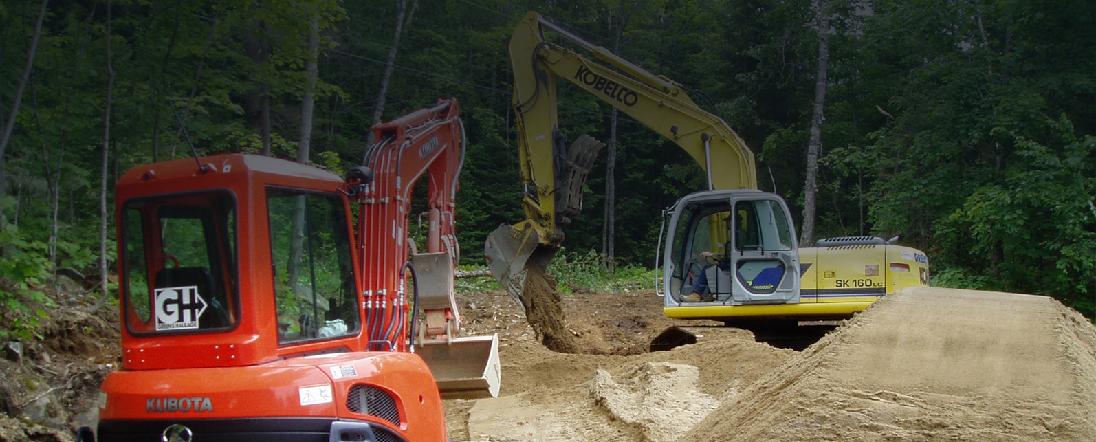 Septic System Installation by Green's Haulage